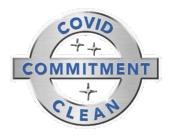 Covid Clean Logo Large